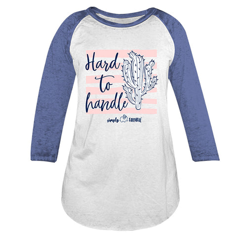 Simply Faithful By Simply Southern Hard To Handle Long Sleeve T-Shirt