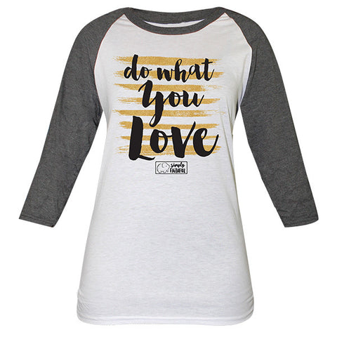 Simply Faithful By Simply Southern Do What You Love Long Sleeve T-Shirt