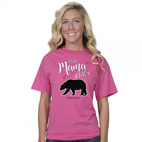 Simply Faithful By Simply Southern Proud Mama Bear T-Shirt