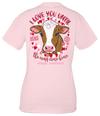 Simply Southern Preppy XOXO Love Cow T-Shirt