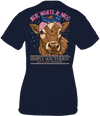 Simply Southern Preppy Red White & Moo Cow USA T-Shirt