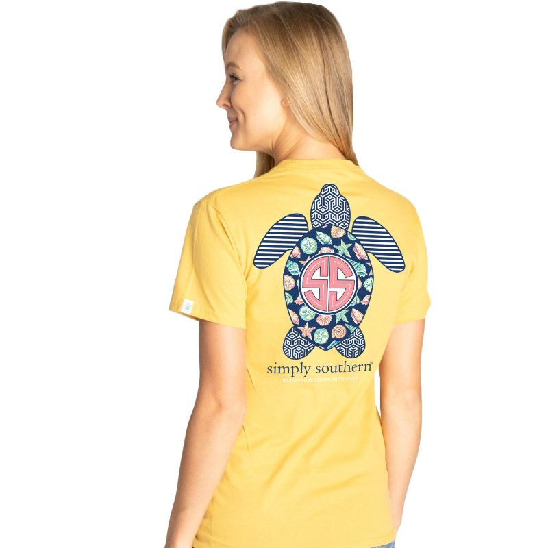 Simply Southern Save The Turtles Shell T-Shirt
