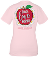 Simply Southern Preppy Teach Love Inspire Teacher T-Shirt