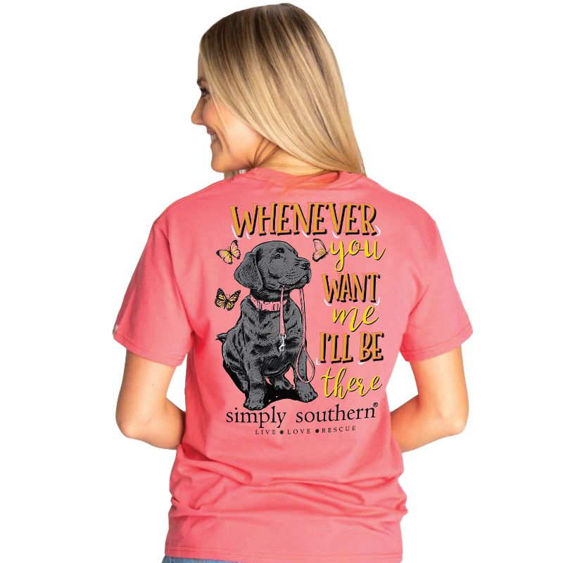 Simply Southern Preppy Be There Dog T-Shirt