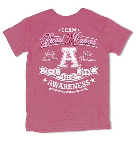 Sweet Thing Team Awareness Breast Cancer Faith Hope Cure Girlie Bright T-Shirt - SimplyCuteTees