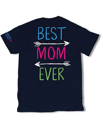 Sweet Thing Best Mom Ever Arrows Mother Mama Heart Girlie Bright T-Shirt - SimplyCuteTees