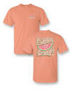 Sale Sassy Frass Life is Sweeter in the South Watermelon Girlie Bright T Shirt