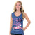 Simply Southern Preppy Live Bug Car Tank Top