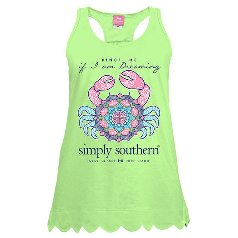 Simply Southern Preppy Crab Tank Top