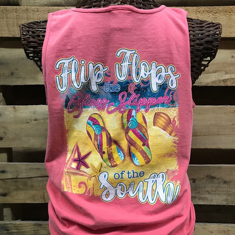 Southern Chics Freedom Home Away from Home Camper Comfort Colors Girlie Bright T