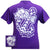 Texas TCU Horned Frogs Chevron Anchor Bow Girlie Bright T Shirt