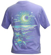 Southern Attitude Tortuga Moon To The Sea Turtles Comfort Colors T-Shirt