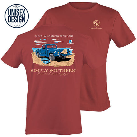 Simply Southern Traditions Truck Unisex Design T-Shirt