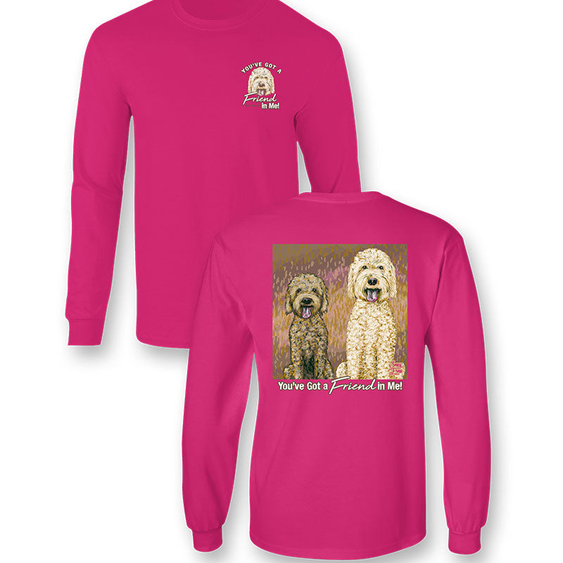 Sassy Frass Friend In Me Dogs Comfort Colors Long Sleeve T-Shirt