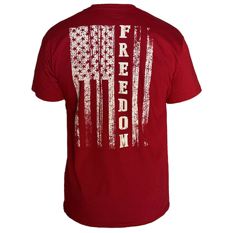Country Life Outfitters Vintage USA Freedom Flag Unisex T-Shirt