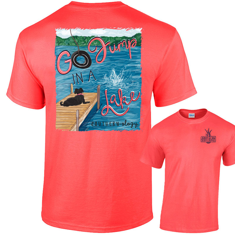 Southernology Preppy Go Jump in a Lake Classic T-Shirt