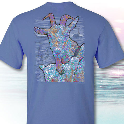 I Fought Today Goats Cancer Ribbons T-Shirt