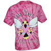 SALE Southern Attitude Bee - Lieve Cancer Hope Tie Dye T-Shirt