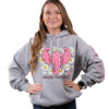 Simply Southern Preppy Daisy Elephant Pullover Hoodie T-Shirt