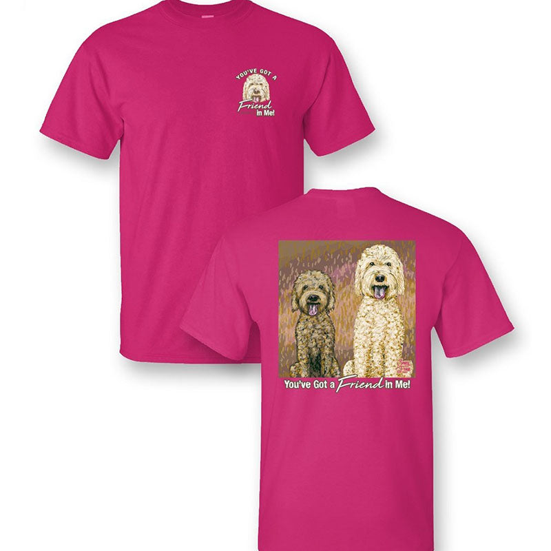 Sassy Frass Friend In Me Dogs Comfort Colors T-Shirt