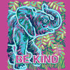 Sassy Frass Preppy Be Kind Elephant Comfort Colors T-Shirt