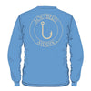 Southern Sippin Hook Pigment Dyed Unisex Pocket Long Sleeve T-Shirt - SimplyCuteTees