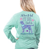 Simply Southern Preppy My Dog Said No Long Sleeve T-Shirt