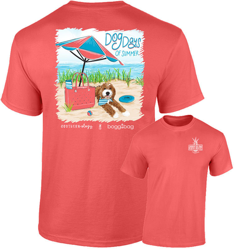 Southernology Dog Days of Summer Beach Comfort Colors T-Shirt