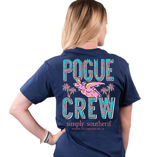 Simply Southern Pogue Crew Turtle T-Shirt