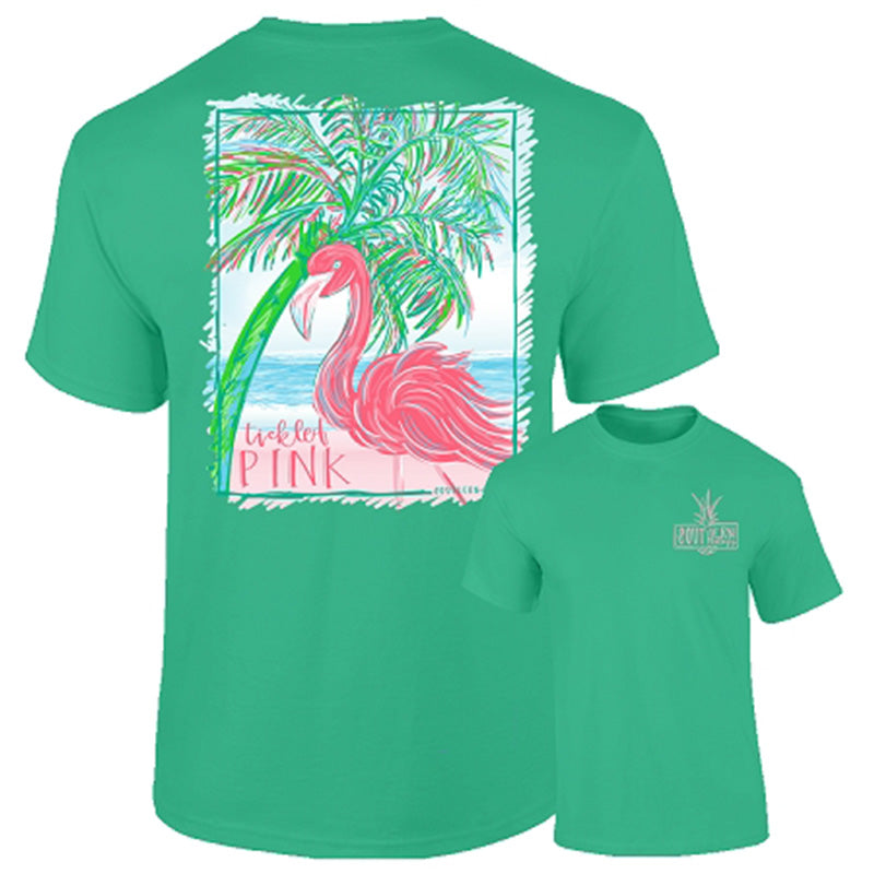 Southernology Tickled Pink Flamingo Comfort Colors T-Shirt