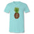 Sassy Frass Preppy Leopard Pineapple V-Neck Canvas T-Shirt