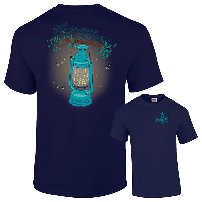 Southernology Preppy Be The Light Fireflies Classic T-Shirt