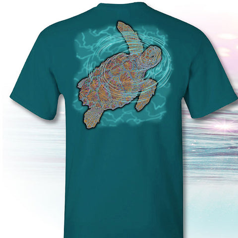 I Fought Today Sea Turtle Cancer Ribbons T-Shirt