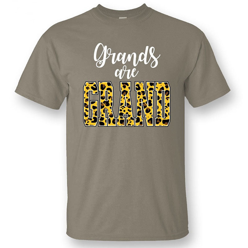 Sassy Frass Grands Are Grand Grandma Canvas T-Shirt