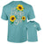 Southernology Bright Side Sunflower Comfort Colors T-Shirt