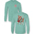 Sassy Frass Vintage Reindeer Holiday Comfort Colors Long Sleeve T-Shirt