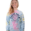 Simply Southern Pogue Crew Simple Life Tie Dye Long Sleeve T-Shirt