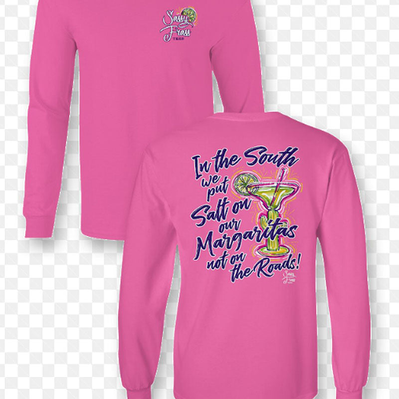 Sassy Frass Salty Margarita Long Sleeve T-Shirt