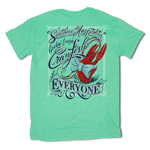 Southern Vine Southern Hospitality Crawfish for Everyone T-Shirt