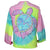 Southern Attitude Tortuga Moon Palm Turtle Tie-dye Long Sleeve T-Shirt