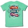 Sweet Thing Another Day In Paradise Flip Flop Mint T-Shirt - SimplyCuteTees