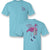 Sassy Frass Preppy Flocking Fabulous Flamingo T-Shirt