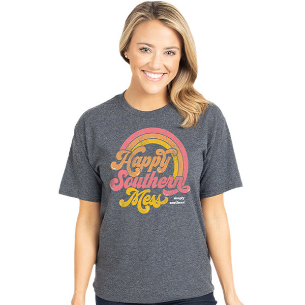 SALE Simply Southern Vintage Collection Happy Southern Mess T-Shirt