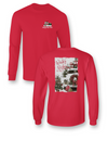SALE Sassy Frass Winter Wishes Christmas Holiday Truck Long Sleeve Bright Girlie T Shirt