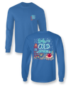 Sassy Frass Baby It's Cold Outside Hot Chocolate Snow Christmas Long Sleeve Bright Girlie T Shirt