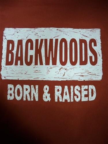 91257985 SALE Southern Chaps Funny Backwoods Born & Raised Country Bright T Shirt