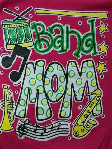 Southern Chics Funny Band Mom School Sweet Girlie Bright T Shirt