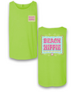 Sassy Frass Beach Hippie Live the Life You Love Comfort Colors Bright T Shirt Tank Top