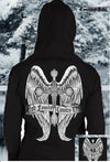 Country Life Outfitters Cross Wings God Family Vintage Unisex Hoodie - SimplyCuteTees