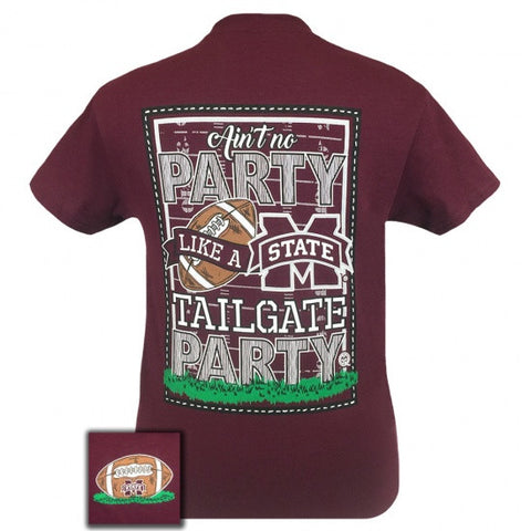 MSU Mississippi State Bulldogs Tailgate Party T-Shirt